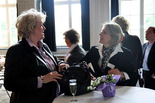 Gastgeber und Gäste nutzten die Gelegenheit