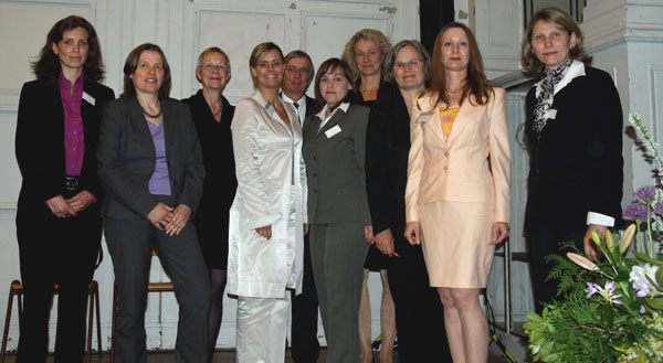 Das Team von INposition freute sich über eine gelungene Veranstaltung