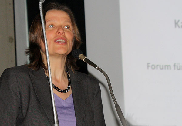 Ute Sachau-Böhmert von der Behörde für Wirtschaft, Verkehr und Innovation