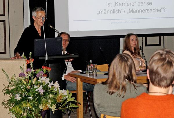 Frau Prof. Dr. Gertraude Krell, FU Berlin
