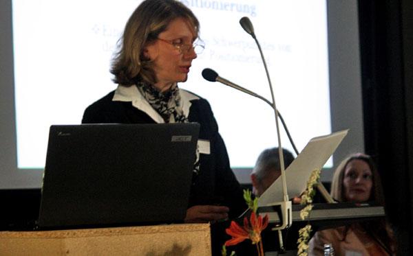 und Carola Günther M.A., Projekt INposition, zu